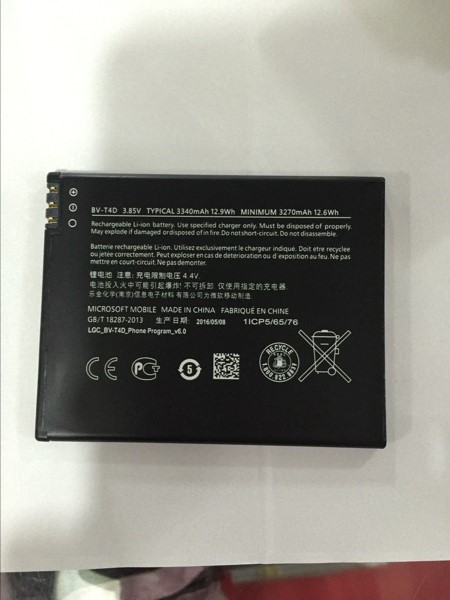 ALLCCX high quality mobile phone battery BV-T4D for Nokia Lumia 950 XL Lumia 950 XL Dual SIM with good quality