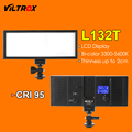Viltrox L132T Luz de Vídeo LED LCD Ultra Thin Bicolor y regulable Panel de Luz LED de La Lámpara de Estudio DSLR para La Cámara DV videocámara