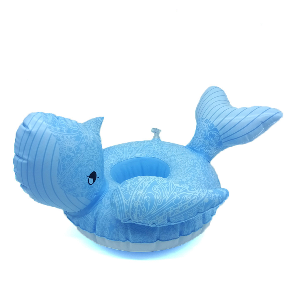 1Pcs New Unicorn whale Inflatable Cup Holder Beer Drink Cup Holder Swimming Pool Summer Hawaii Theme Party Supplies