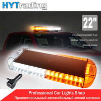 22 40 LED Car Lights Daytime Running Lights Tow Truck Emergency Warning Beacon Strobe Flash Lights Bar Green/Amber/Blue/Red