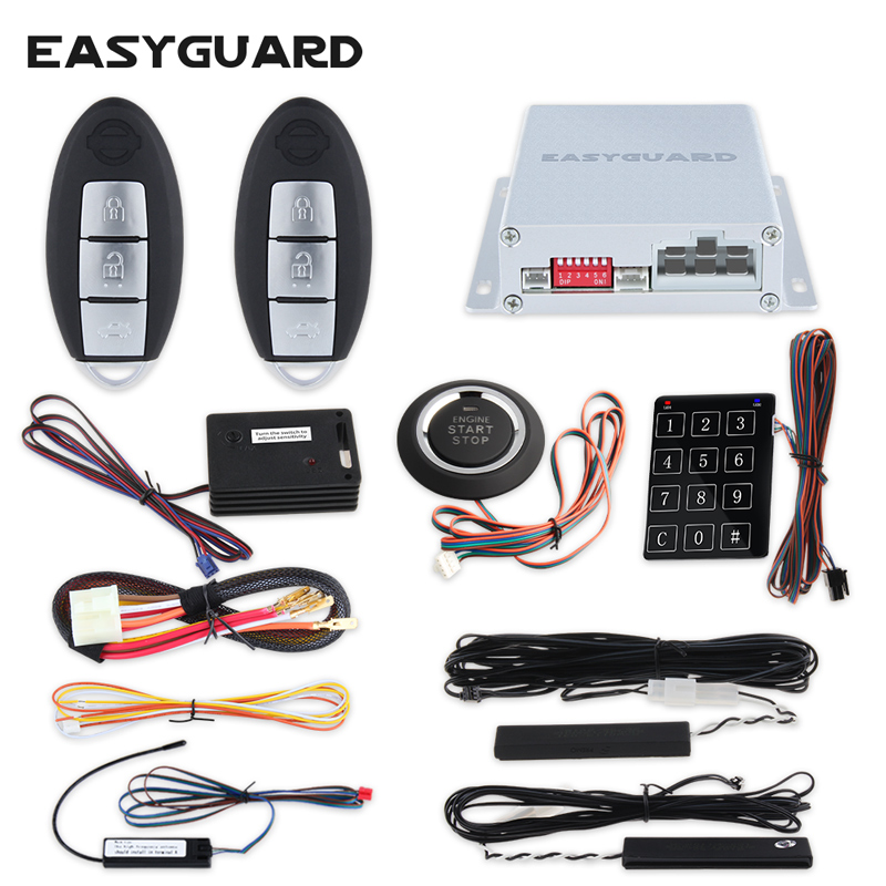 Aliexpress Com   Buy Easyguard Intelligent Pke Car Alarm