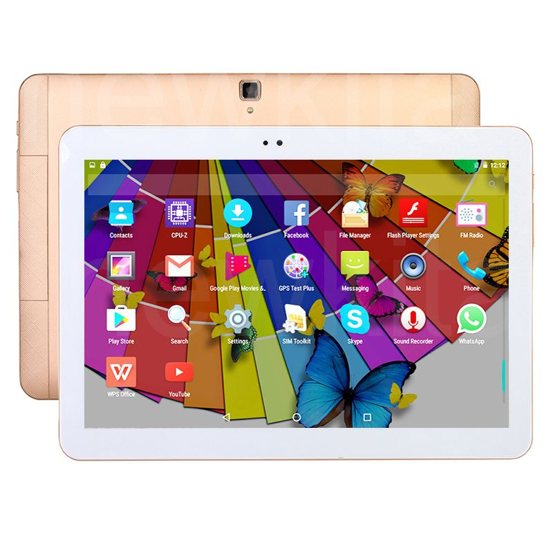 10 1 4G Lte Tablet Android 6 0 Octa Core 32GB ROM 1280 800 IPS 5MP