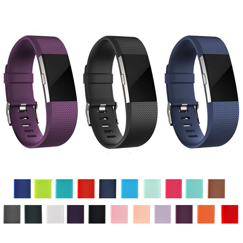 Wrist-Strap Band Bracelet Fit-Bit Smart-Wristband-Accessories Fitbit-Charge 2-Fitness-Tracker
