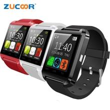 U8 Reloj inteligente Muñeca Deporte Reloj Inteligente Inteligente Pulso Sincronización de Llamadas SMS Recordatorio Reloj de Control Remoto Para Samsung Sony