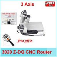 EU No Tax Mini Cnc Milling Machine Ball Screw And Tool Auto Checking Instrument 3020 Wood