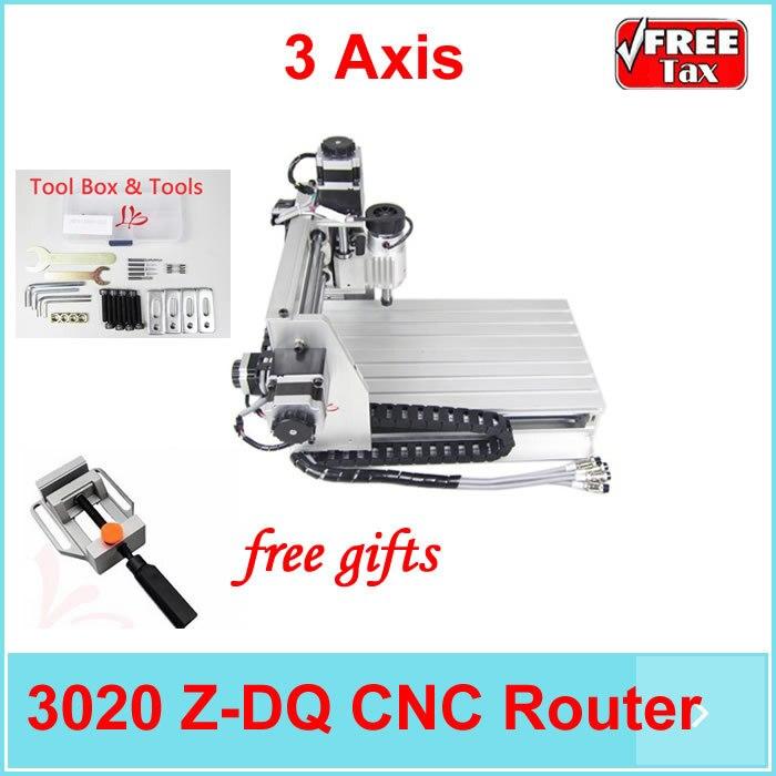 EU no tax ! Mini cnc milling machine ball screw and tool auto-checking instrument, 3020 wood PCB engraving machine eur free tax cnc 6040z frame of engraving and milling machine for diy cnc router
