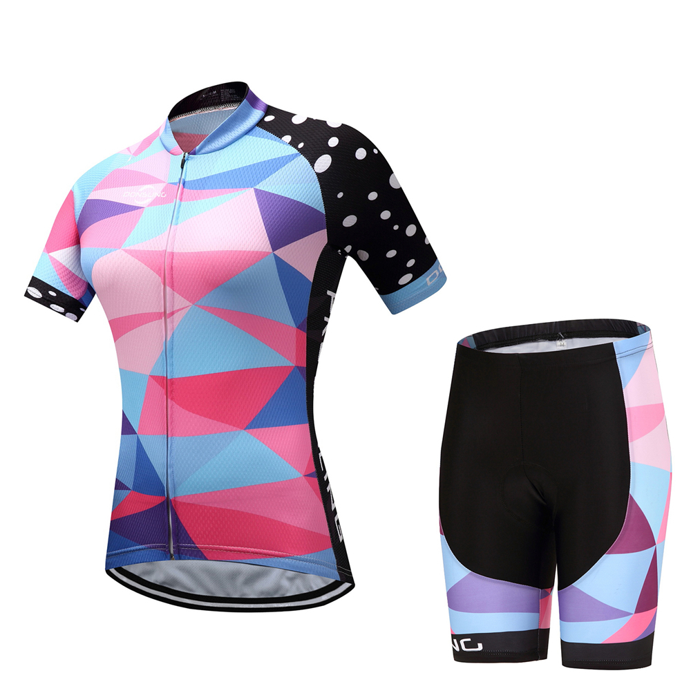 e075e6c3f New Cycling Jersey Sets Women Mountain Bike Bicycle Pro Sportwear R0pa  Ciclismo 2018 Short Sleeve Breathable Cycling Sets