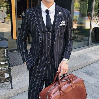 Business Casual Clothing (Blazer+vest+pant )  DRESS