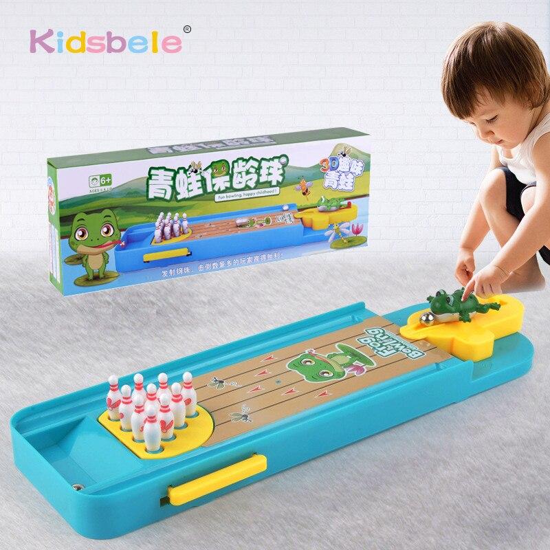 Mini Desktop Bowling Spiel Spielzeug Lustige Indoor Eltern-kind-Interaktive Tisch Sport Spiel Spielzeug Bowling Pädagogisches Geschenk Für Kinder