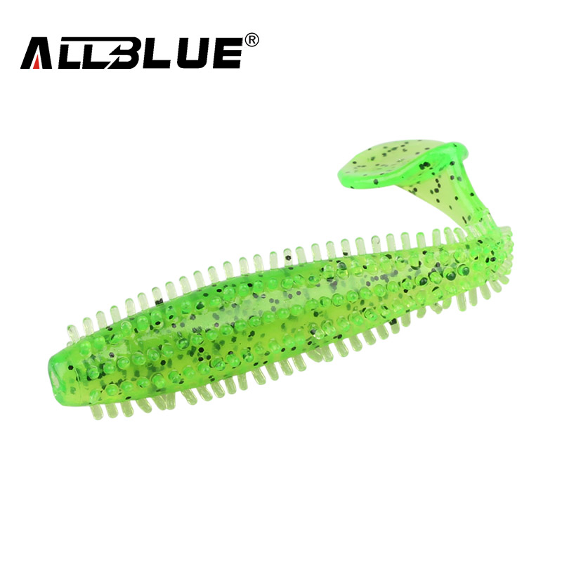 ALLBLUE 2017 80mm/4.2g Vivid Soft Lures 6pcs/lot Artificial Fishing Bait Swimbait Fishing Worm Fishing Tackle Fishing Lure Peche allblue 5pcs lot soft fishing lure silicone shad worm bait 95m 5 4g swimbait vivid pike bass lure isca artificial fishing tackle