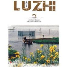 LUZHI Ancient Towns Around Shanghai Language English Paper Book Keep on Lifelong learning as long as you live-208 green j paper towns