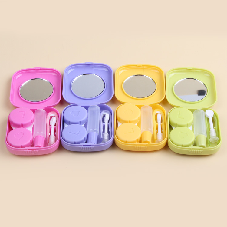 Eyewear Accessories Strict Easy Carry Mini Mirror Contact Lens Travel Kit Case Storage Holder Container Box Back To Search Resultsapparel Accessories