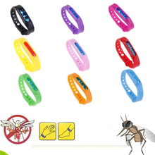 5pcs Mosquito Killer Silicone Wristband Summer Repellent Bracelet Anti Band Children Insect