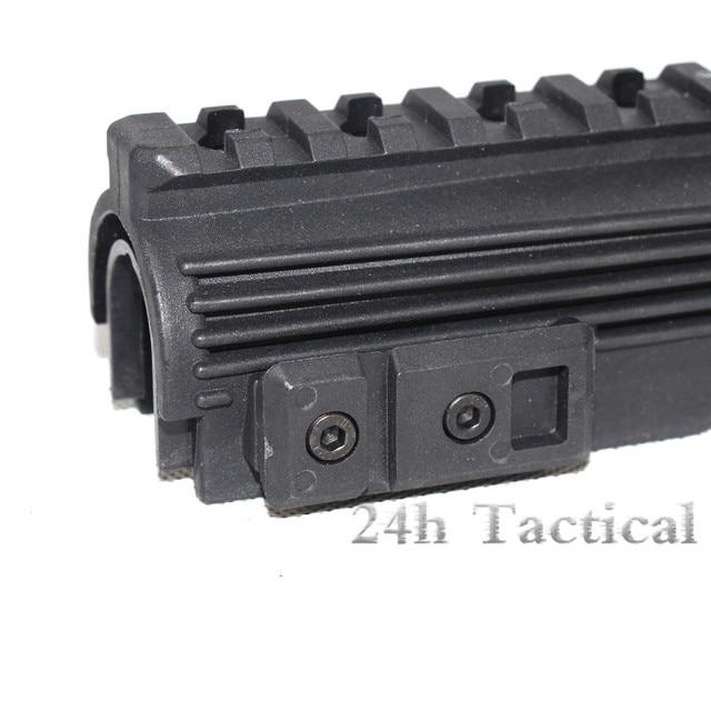 Protège-mains en polymère Strikeforce de AK-47 (supérieur et inférieur) avec Rails et inserts Picatinny 20mm livraison gratuite chasse tactique Airsoft