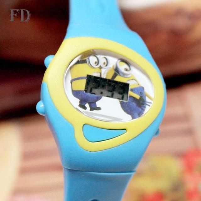 FD 2018 Patrón de dibujos animados de moda Niñas Niños Reloj - Relojes para niños - foto 4