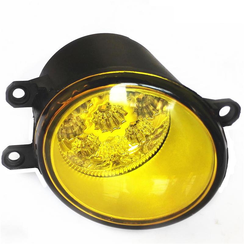 Golden Eye DRL LED Fog Lights Lamps For TOYOTA Solara Mark X 4Runner Hilux AYGO AURION GSV40 VITZ  2006-2014 golden eye drl led fog lights lamps for lexus lx570 rx350 awd rx450h awd es300h gs350 gs450h is f is250 is350 2008 2013