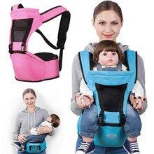 Respirant Infantile Sling Bébé Kangourou Wrap Sling Doux Enfants de  Transport Portable Bébé Siège Pour Hanche Hipseat Sac À Dos . 2341e0d44f1