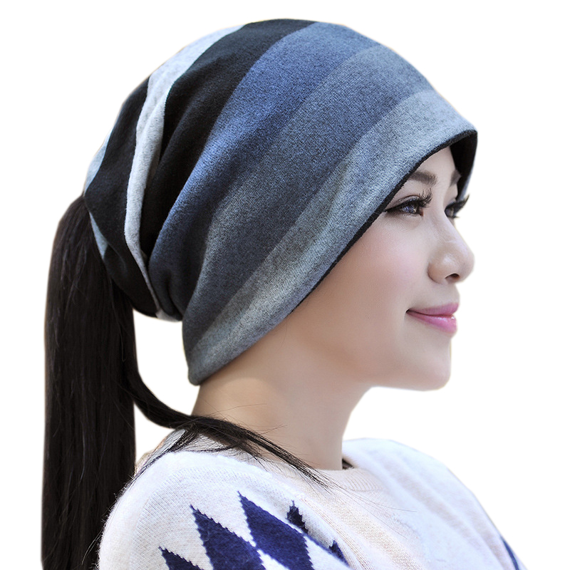 e881ca9a909 Multifunctional Ring Scarves Adult Unisex Tube Headwear Hat Neck Warmer  Snood Cap Beanie(Pack of 2