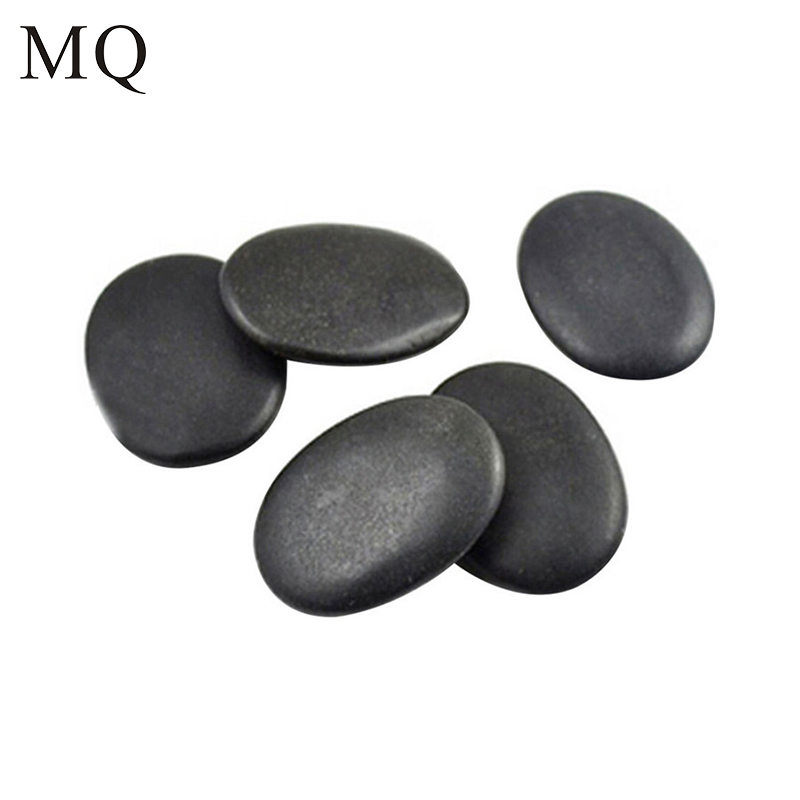 10pcs/set SPA Hot Massage Stone Therapy Volcanic Energy Beauty Essential oil Stone for Face/Back/Joints/Foot Body Relax Stone