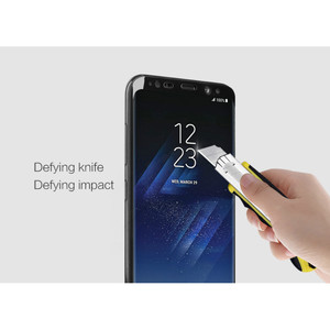 Image 4 - NILLKIN Tempered Glass For Samsung Galaxy S8 S8 Plus Full Coverage 3D CP+ MAX Screen Protector Glass Film For Galaxy S8 S8+