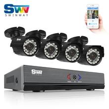 ANRAN 4CH HD HDMI 1080N DVR AHD Security Camera System 720P IR Waterproof CCTV Camera Outdoor Home Video Surveillance Kits