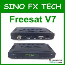 Free universial freesat V7 HD DVB S2 Satellite TV Receiver Support PowerVu Biss Key 1080p USB