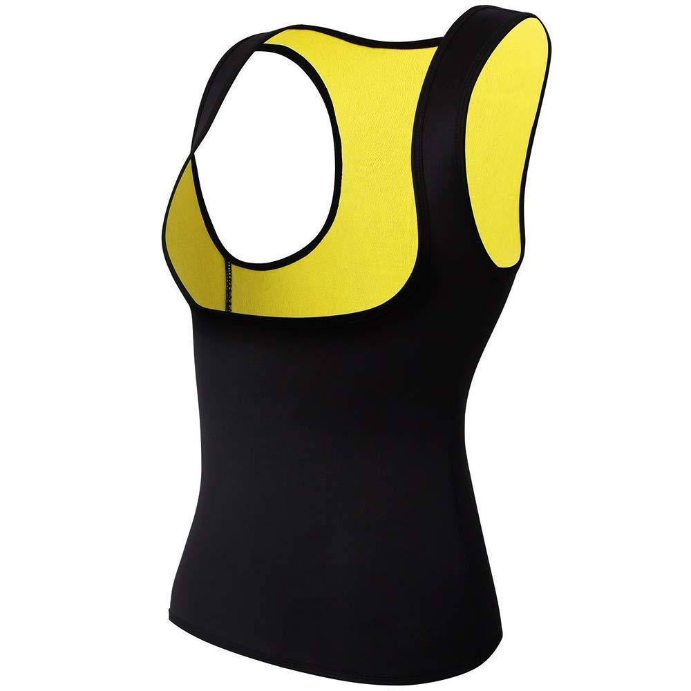 High Performance Thermal Slimming Body Shaper Women Neoprene Body Shaper Slimming Yoga Fitness Vest Shapewear Breast in Braces Supports from Beauty Health