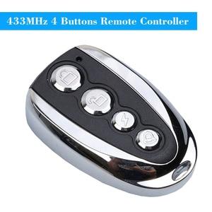 Image 2 - Kebidu Mini elektrikli 4 düğme 433Mhz araba Rolling kod uzaktan teksir garaj kapı uzaktan kumandası açacağı elektrikli ev için