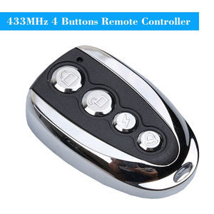 Image 2 - kebidu Mini Electric 4 Button 433Mhz For Car Rolling Code Remote Duplicator Garage Door Remote Control Opener Electric For Home