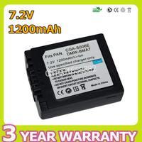 1200mAh CGA S006E CGA S006 CGR S006E CGR S006 DMW BMA7 Camera Battery For Panasonic Lumix