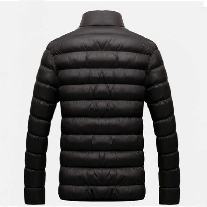 Nieuwe Jas Mannen 2019 Herfst Winter Cool Design Hip Hop Uitloper Merk Kleding Mode Effen Mannelijke Windjack Heren Jassen M-6XL