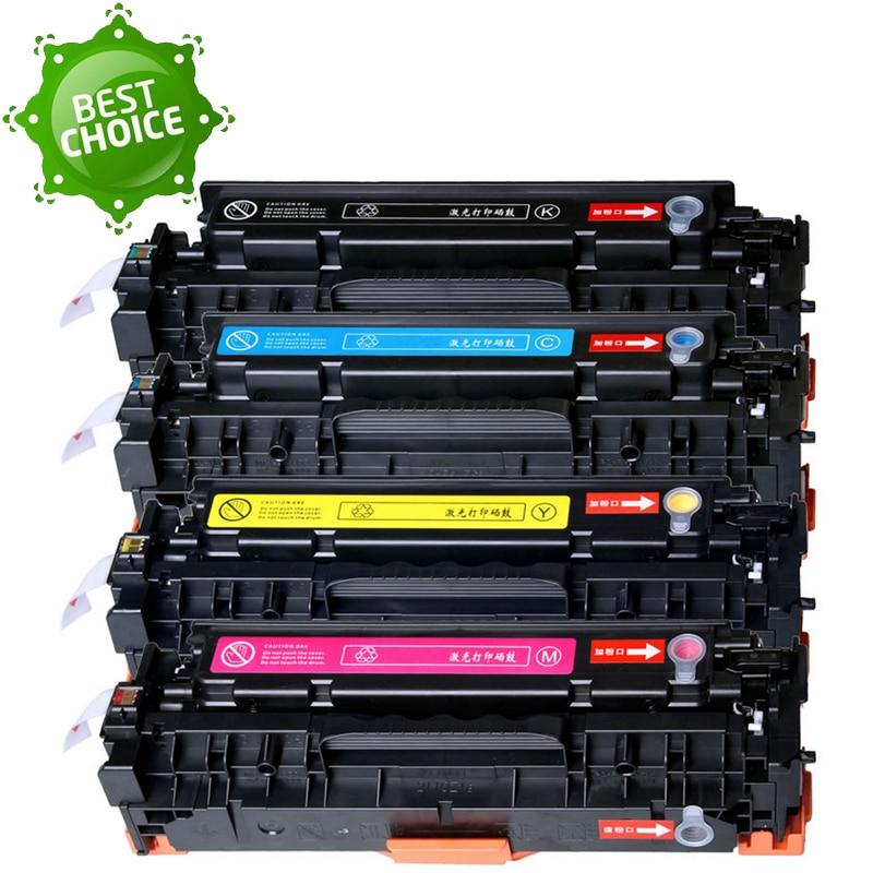4X410 410A CE410A CE411A CE412A CE413A 305A Cartouche De Toner Pour HP Laserjet Enterprise 300 couleur M351 M375nw M451nw M451