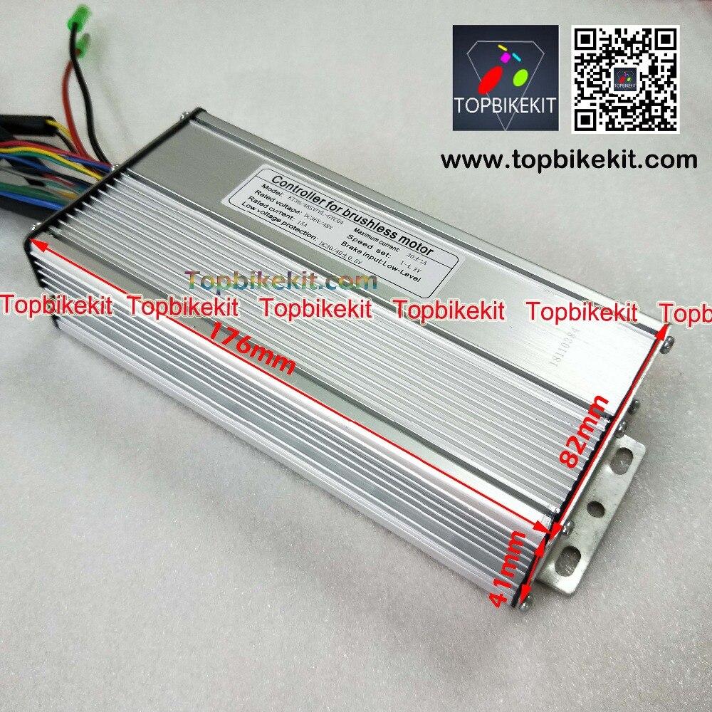 S12S-T12S 36V48V500W Torque Simulation Sine Wave Controller For ebike-36V-500W-48V-500W-Hub-motor (2)