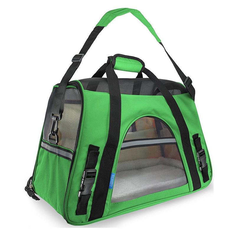 Portable Pet Bag Backpack Dog Cat Carrier Travel Pack Teddy Outgoing Packets With Cashmere Pad Shoulder Bag Pet Handbag for Dogs