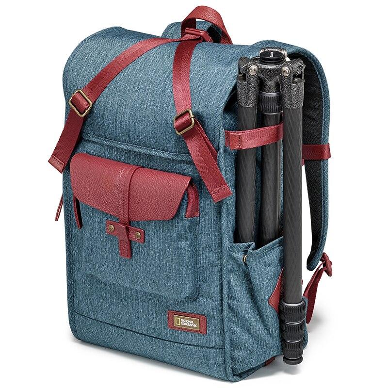 National Geographic NG AU5350 cuero Cámara bolsa mochilas de gran capacidad Portátil Bolsa de transporte para cámara de vídeo Digital bolsa de viaje