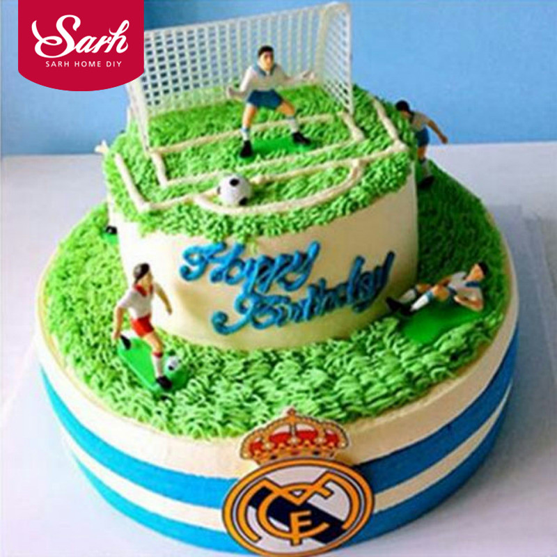1 Set Football Game Soccer Sport Cake Decoration Party Decoration Birthday Party Diy Gifts In