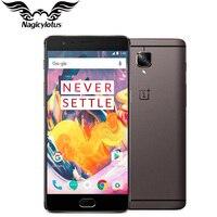 Смартфон One plus 3 T 6 ГБ ОЗУ 64 Гб/128 Гб ПЗУ EU версия OnePlus 3 T A3003 4 г LTE мобильный телефон 5,5 Android Snapdragon 821 NFC
