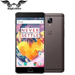 One plus 3T 6GB RAM 64GB ROM EU Version OnePlus 3T A3003 4G LTE Mobile Phone 5.5