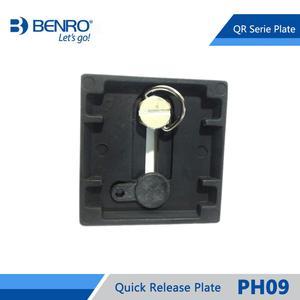 Image 2 - БЫСТРОРАЗЪЕМНАЯ пластина Benro PH09, профессиональная алюминиевая пластина для Benro HD2, с креплением на голову, бесплатная доставка