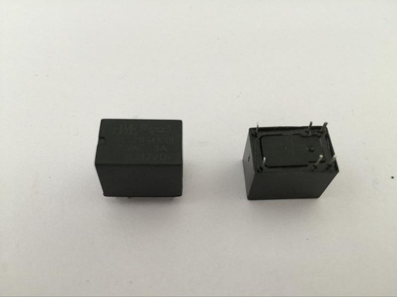 100pcs Miniature PCB Relay JRC-21F 4100 DC 24V 6 Pins 3A