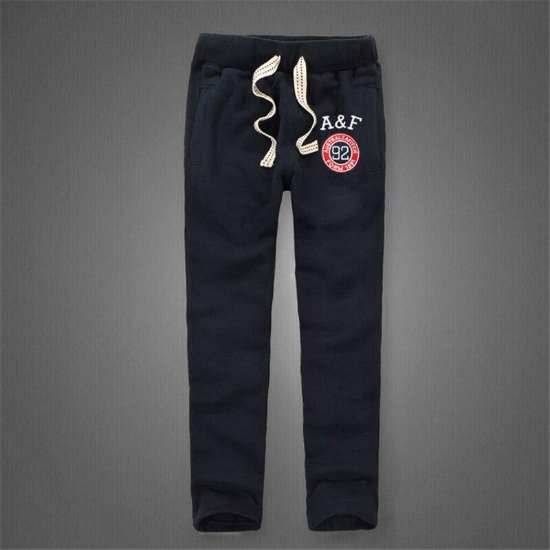 Image 2 - Зимние штаны для мужчин, Плотные хлопковые спортивные штаны, длинные брюки, мягкие и дышащие штаны для бега, размеры от s до 3XL-in Спортивные брюки from Мужская одежда