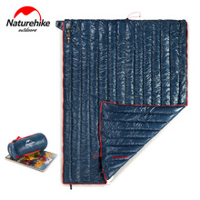 Naturehike Goose Down Sleeping Bag Outdoor Ultralight Adult Fleabag Warm Splicing Single Envelope Sleeping Camping Sleeping Gear недорго, оригинальная цена