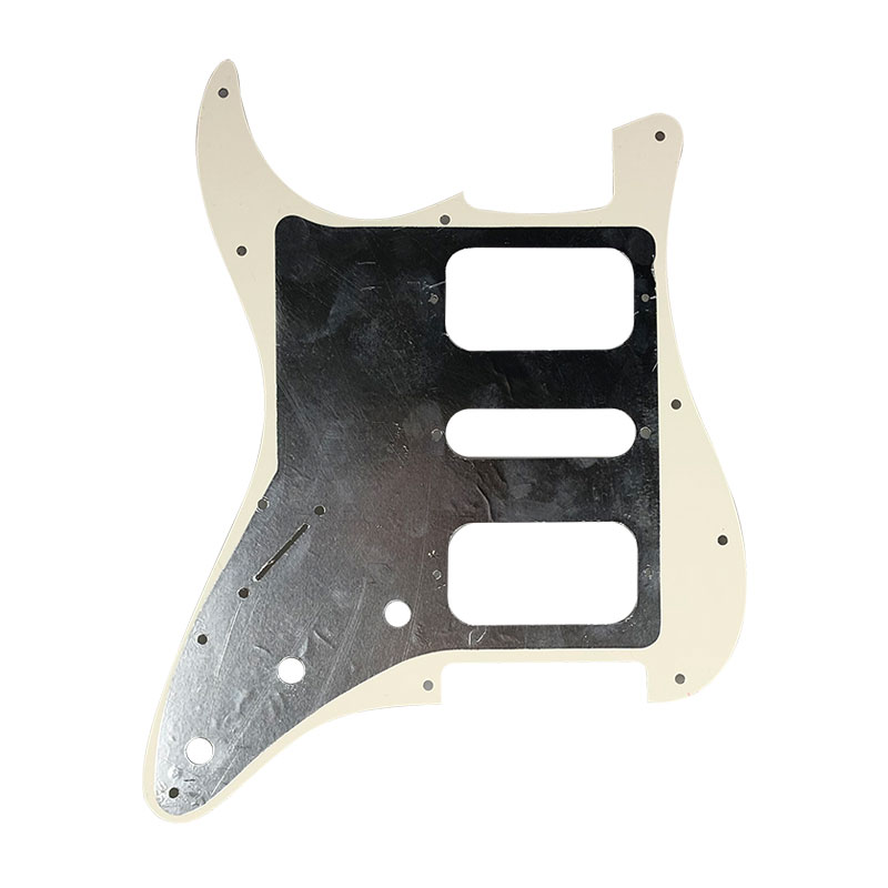 Купить с кэшбэком Guitar Parts - For USA\Mexico Fd Stratocaster 11 Screw Holes HSH Two Deluxe Humbuckers Single St Guitar pickguard Scratch Plate
