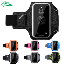 Jeebel Running Armband Waterproof Sports Men Jogging Gym 5.0 5.8 Bag Touch Screen Women Arm Wrist Band Hand Holder Pouch