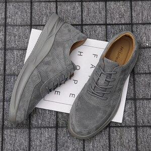 Image 5 - Misalwa 2020 חדש אמיתי עור נעליים יומיומיות גברים ופרס זמש גברים נעליים לנשימה חיצוני נעלי Zapatos צעיר גברים סניקרס