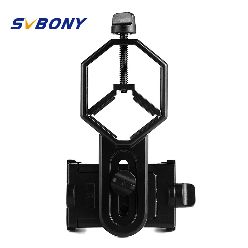Universal Adapter Mount Binoculars Monocular Spotting Scope Telescope Phone Support Eyepiece D: 25-48mm for Telescope W2546A universal cell phone holder mount bracket adapter clip for camera tripod telescope adapter model c