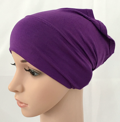 Modal cotton plain solid color inner cap bandage muslim underscarfs hijab