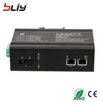 Bliy 1 пара gigabit switch ethernet, промышленный выключатель poe ftth волоконно оптический коммутатор ethernet с пассивная волоконно Оптическая сеть ethernet откр