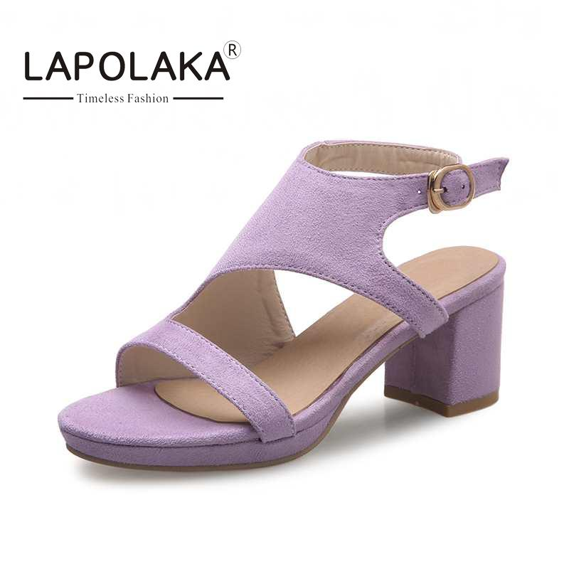 Popular Purple Chunky Heel Platform Shoes-Buy Cheap Purple Chunky ...
