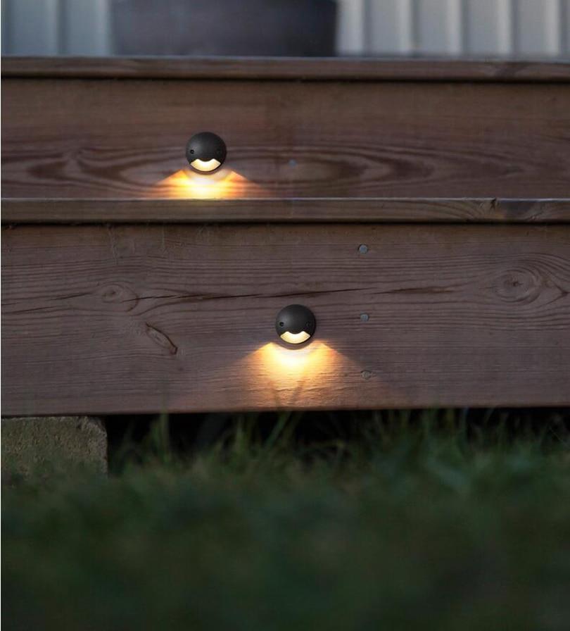 subterrânea spotlight led deck jardim caminho chão